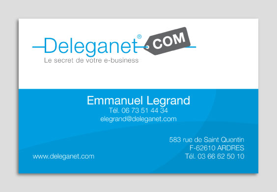 Deleganet Business card