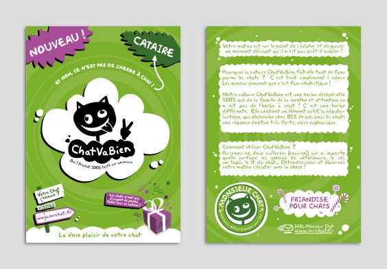 Monsieur Chat flyer